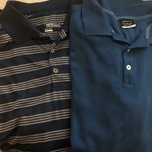2-NikeGolf dri -weave Polo shirts